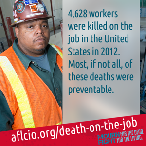 Today's Death Toll: 150 Workers