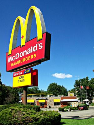 McDonald's Desperately Seeks Love
