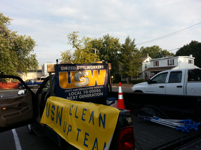 Next Gen Steelworkers Working to Keep Pennsylvania Beautiful