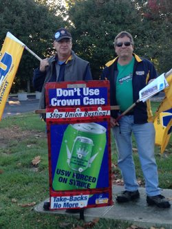 Canadian USW Members Seeking Support in Philadelphia on December 4