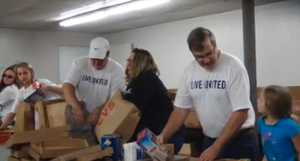 USW Local 1688 Living United to Help People in their Community