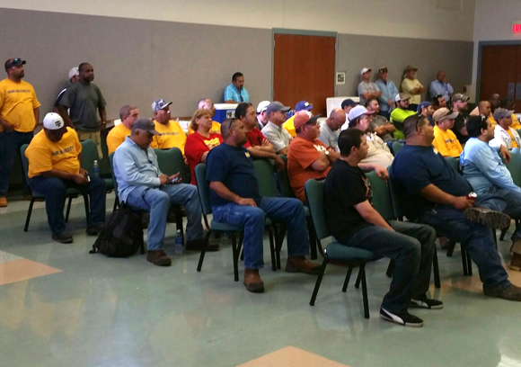 Director Garza Reviews Contract Negotiations with USW Local Union 235A