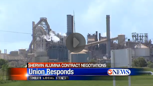Union Releases Statement About Sherwin Alumina Contract Negotiations