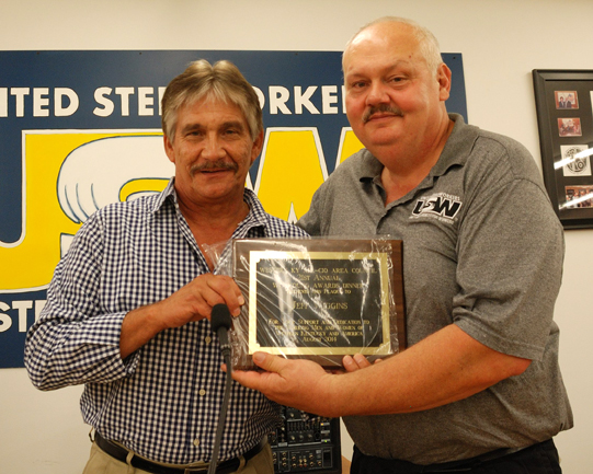 USW Local Union Leader Presented the 2014 W.C. Young Award