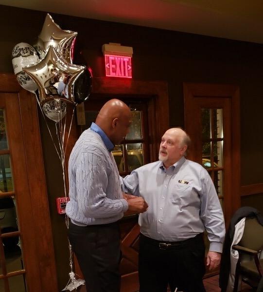 Ron Johnson retires