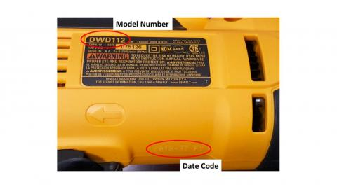 DeWALT recalls drills due to shock hazard 2