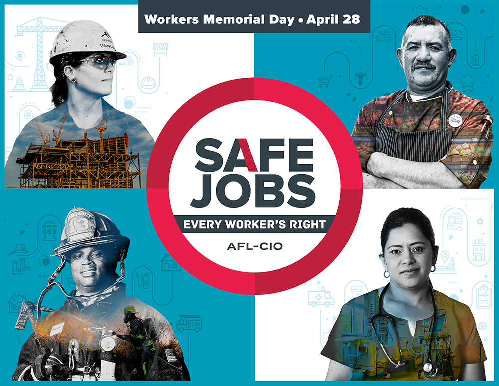 Organize An Event To Commemorate Workers Memorial Day United