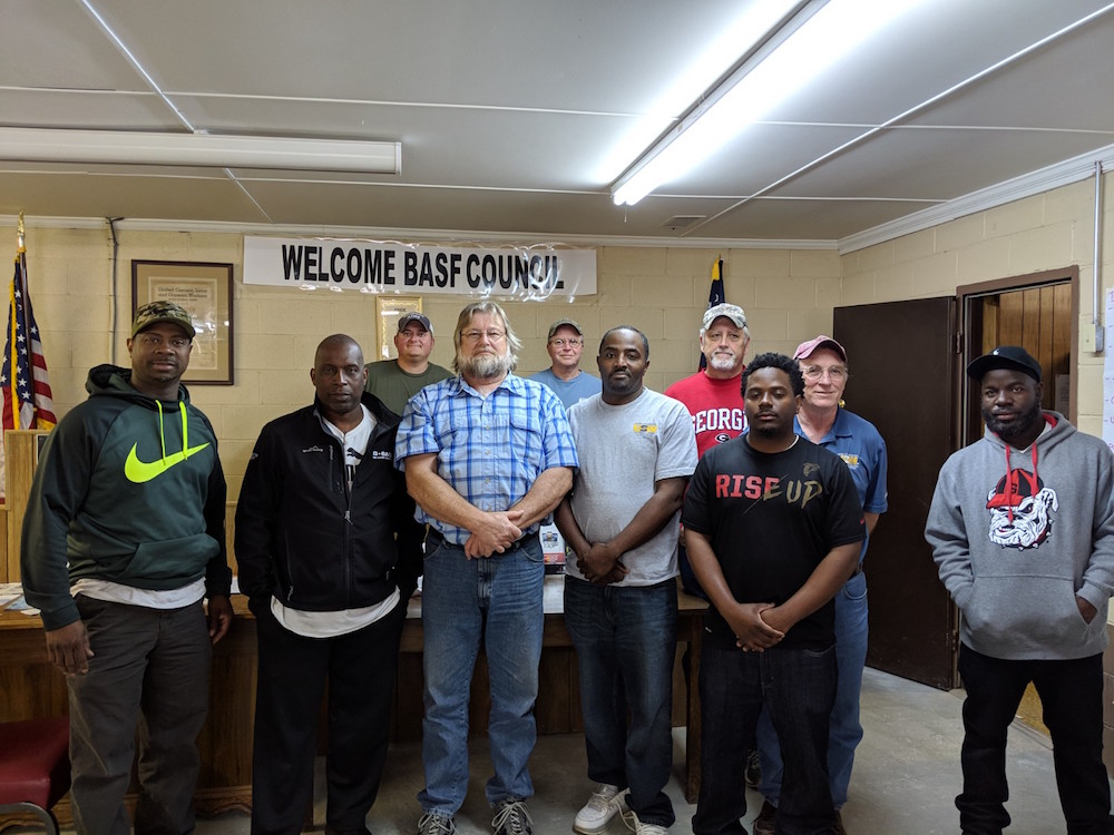 Middle Georgia BASF Locals Use Building Power Training to Strengthen