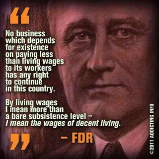 A Living Wage os One that Can Support a Working Person Without Government Assistance
