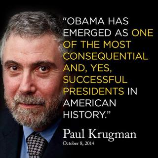 Krugman's a Nobel Prize Winner; He Knows a Thing or Two