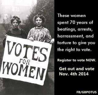 Register to Vote in Honor of Those Who Fought for Your Right