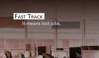 Fast Track Lost First Round; Make Sure It's Knocked Out Permanently