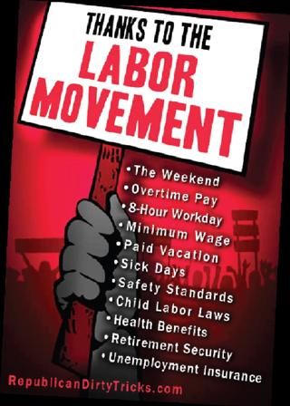 Happy Labor Day, Thanks To Organized Labor