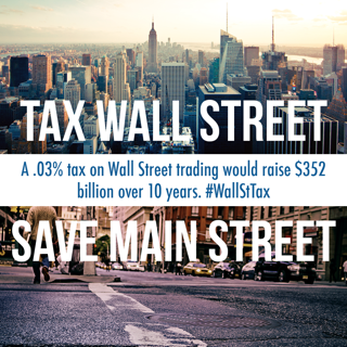 Wall Street Transactions Tax -- Costs Them Pennies, Saves Us Billions